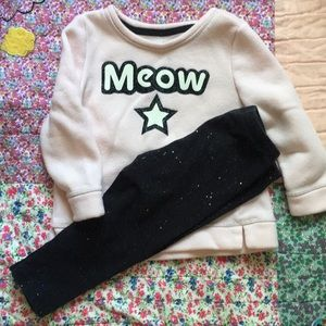 Oshkosh Meow Outfit
